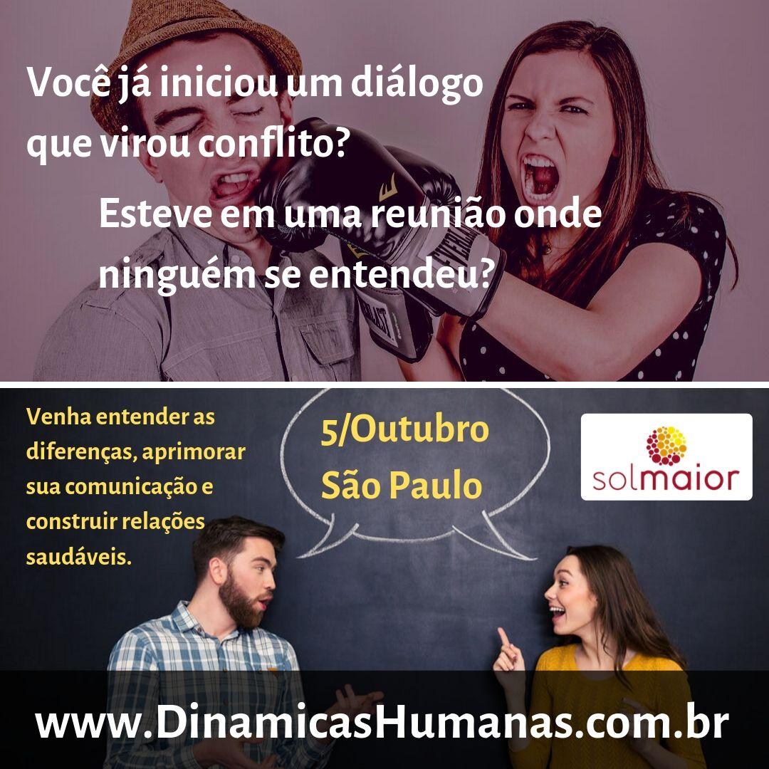 Dinâmicas Humanas – Workshop em Sp