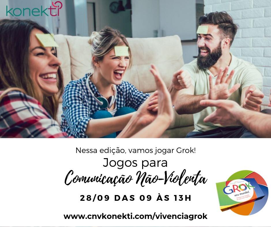 Workshop de CNV – Comunicação Não-violenta